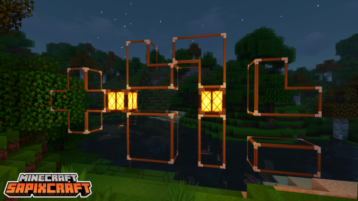 connected glass using Optifine.