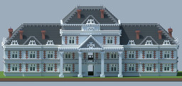 French Influenced Mansion Minecraft Map & Project