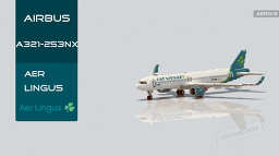Airbus A321-253NX/LR Aer Lingus [+Download] Minecraft Map & Project