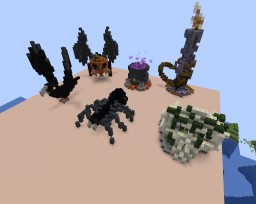 Halloween Pack#1 Minecraft Map & Project