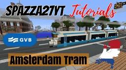 GVB Tram Amsterdam Minecraft Map & Project