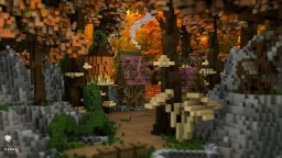 Autumn Fantasy Lobby Minecraft Map & Project