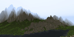Small extreme mountains Minecraft Map & Project