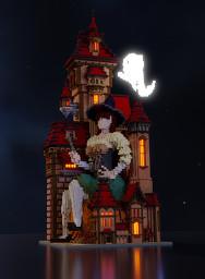Halloween Castle Minecraft Map & Project