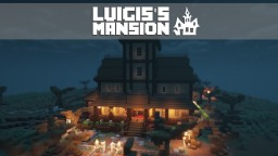 Luigi's Mansion Dark Moon [+Download] Minecraft Map & Project