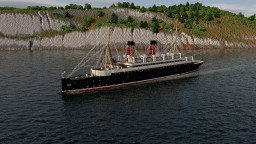 RMS Ben-my-Chree (1908) Minecraft Map & Project