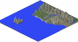 Mountain Coast Minecraft Map & Project