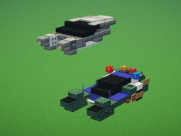 Blade Runner Spinners Minecraft Map & Project