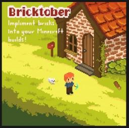 #blocktoberminecraft Brick Build Challenge 2019! Minecraft Map & Project