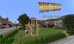 Back to the Future - Hill Valley 1955 - Courtyard Square Minecraft Map & Project