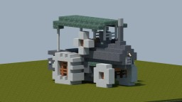 Steam Tractor [With Download] Minecraft Map & Project
