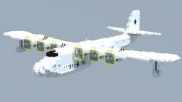 Blohm & Voss BV 222 Viking 1,5:1 Minecraft Map & Project