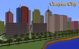 Canyon City (Observatory) Minecraft Map & Project