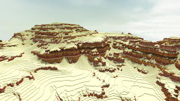 Canyon Terrain - by Aerius Minecraft Map & Project