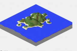 The Mountain Island V2.0 Minecraft Map & Project