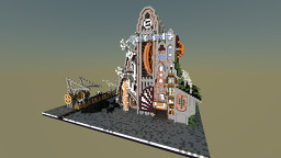Steam Punk Factory Minecraft Map & Project