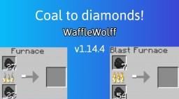 Coal To Diamond Minecraft Data Pack