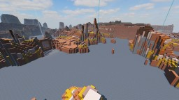 Colour Collector - A crazy ice-boat racing minigame Minecraft Map & Project