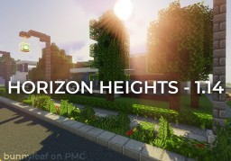 Horizon Heights | Modern Neighborhood (1.14) Minecraft Map & Project