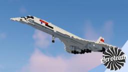 BAC/Aérospatiale Concorde   DOWNLOAD Minecraft Map & Project