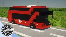 New Routemaster Bus Minecraft Map & Project