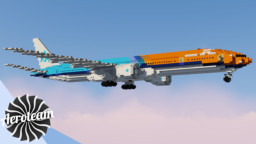 Boeing 777-300ER | DOWNLOAD Minecraft Map & Project