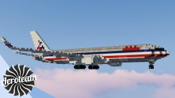 Boeing 767-300ER | DOWNLOAD Minecraft Map & Project