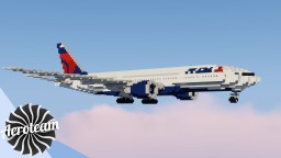 Boeing 777-200LR | DOWNLOAD Minecraft Map & Project