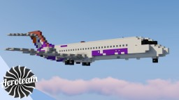 Boeing 717-200 | DOWNLOAD Minecraft Map & Project