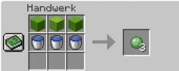 SLIMABALL Recipe Minecraft Data Pack