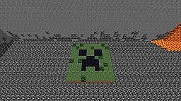 Creeper Mosaic Minecraft Map & Project