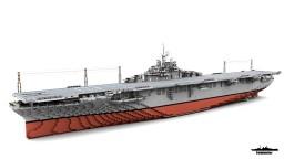 USS Ticonderoga CV-14 1:1 Scale Essex class Minecraft Map & Project