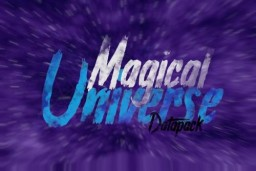 Magical Universe Beta 0.1 - Ultimate magic datapack. Minecraft Data Pack