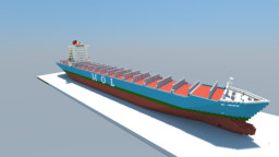 MOL Experience (1:1 Scale Container Ship) Minecraft Map & Project