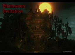 Halloween invitation Minecraft Map & Project