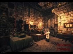 『Halloween Invitation』3 Minecraft Map & Project