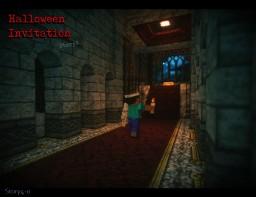 『Halloween Invitation』Story4 Minecraft Map & Project