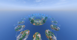 Hypixel SkyWars Mega Doubles map + schematic Minecraft Map & Project