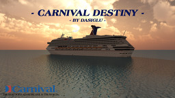 Carnival Destiny | 1.5:1 Scale Replica | Version 1.14+ | Made by DasIglu Minecraft Map & Project