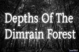 Depths Of The Dimrain Forest (DOTDF) Minecraft Mod