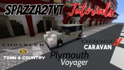 Dodge Caravan/Plymouth Voyager/Chrysler Town & Country - 2018 Minecraft Map & Project