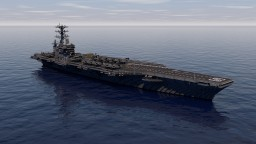 USS Dwight D. Eisenhower (CVN-69) 1:1 Scale | Download Minecraft Map & Project