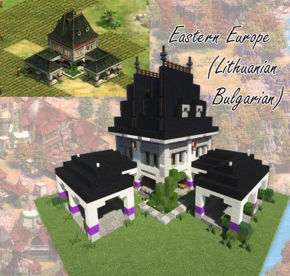 Eastern Europe Lithuanian Bulgarian