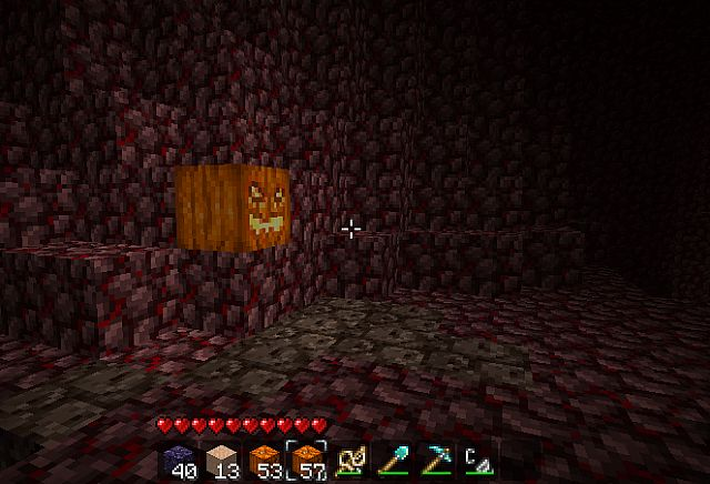 Nether with a burning facelift