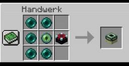 New recipe Minecraft Data Pack