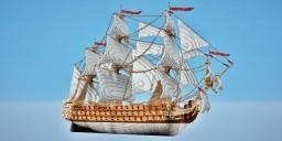 """Ship of the line """"La Bretagne """" (1766) Minecraft Map & Project"""
