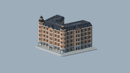 European Apartment Building 2 Minecraft Map & Project