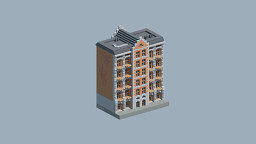 European Apartment Building 3 Minecraft Map & Project