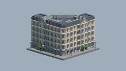 European Commercial Building 2 Minecraft Map & Project