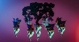 fantastic islands - fantasy skywars map Minecraft Map & Project